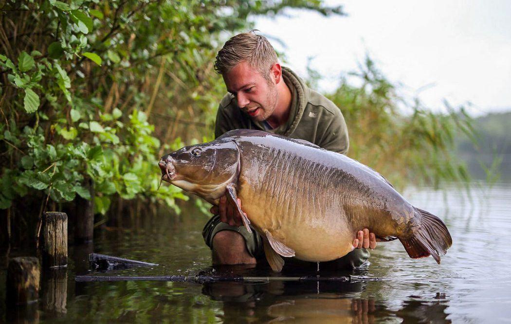 Fish of a Lifetime voor Wesley Vroom tijdens social