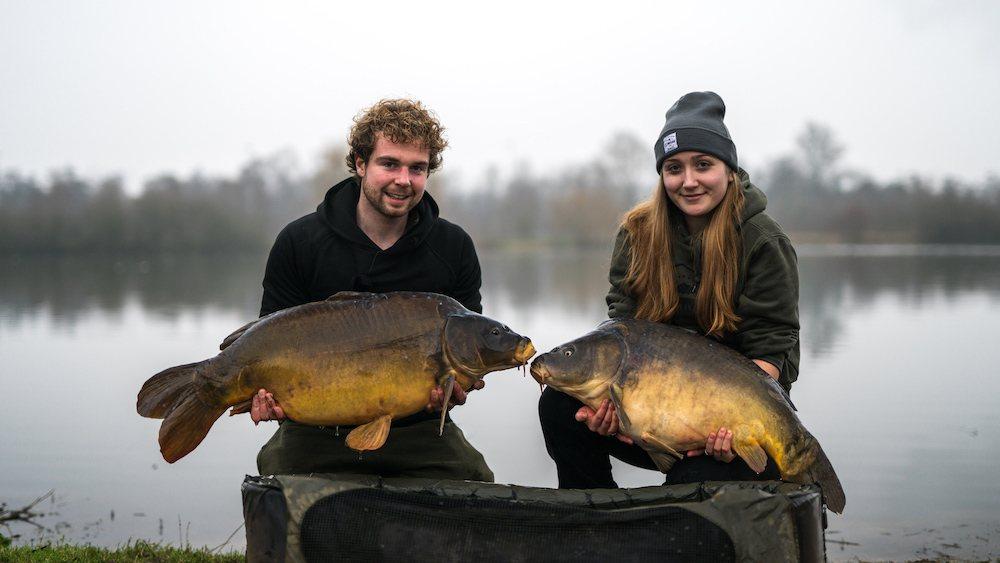 Video + Fotodump: Vissen op De Karperhoeve met Willem Kwinten