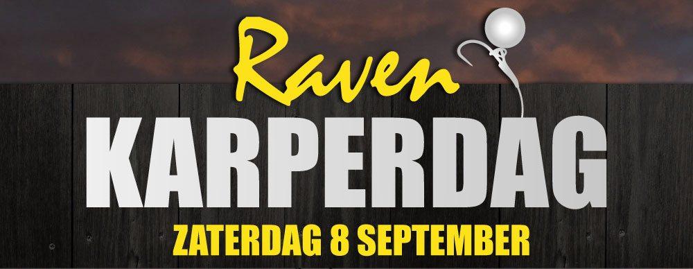 Zaterdag 8 september KARPERDAG bij Raven Hengelsport!