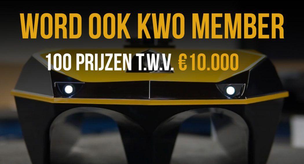 Nog enkele uren om je aan te melden! €10.000 prijzenpot – 100 prijzen