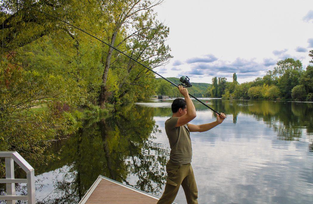 KWO Fieldtest: De Shimano TX4 10ft hengels op de rivier Lot – Marco Nap