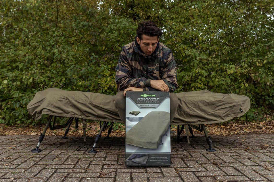 [VIDEO] Marco Nap test de nieuwe Korda DryKore Bedchair Cover!