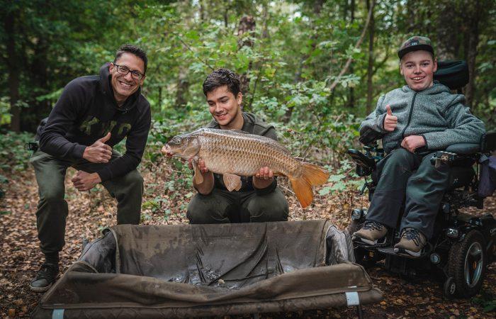 12 Provincies Challenge #6 – Vissen vanuit de rolstoel met Marco in 't Hout